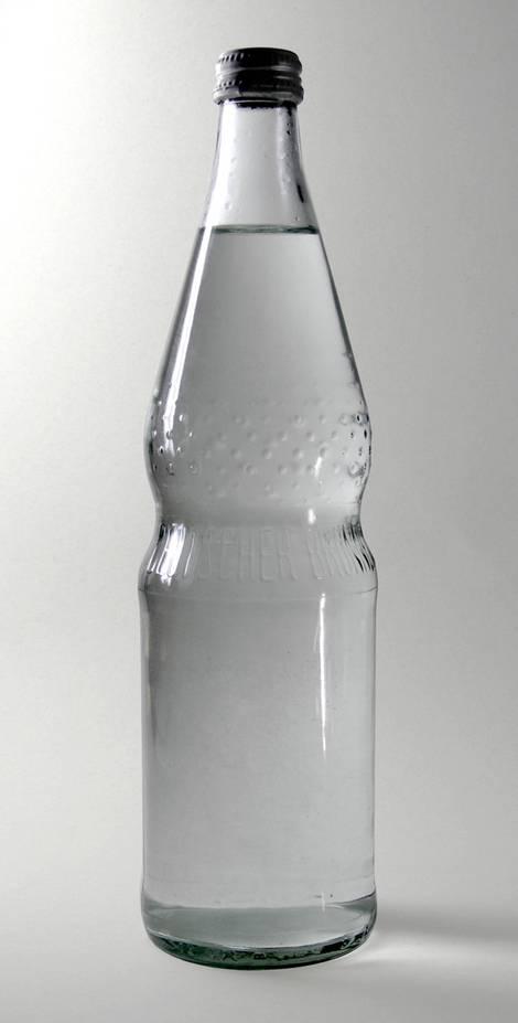 Perlenflasche Mehrweg aus Glas