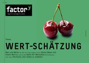 """Titelbild des Magazins """"Wert-Schätzung"""", Download bei Klick"""