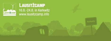 Info-Logo des Lausitzcamp 2014