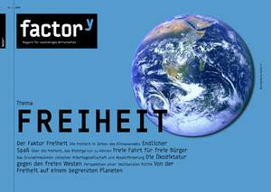 """Titelbild des Magazins """"Freiheit"""", Download bei Klick"""