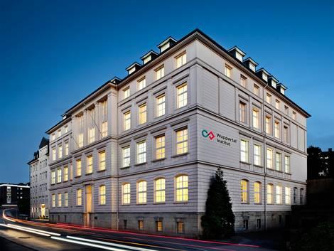Ansicht des Gebäudes des Wuppertal-Instituts.