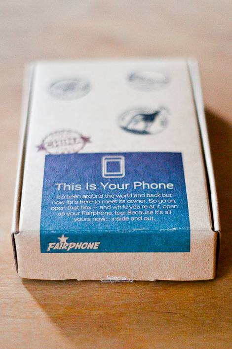 Fairphone Ansichten
