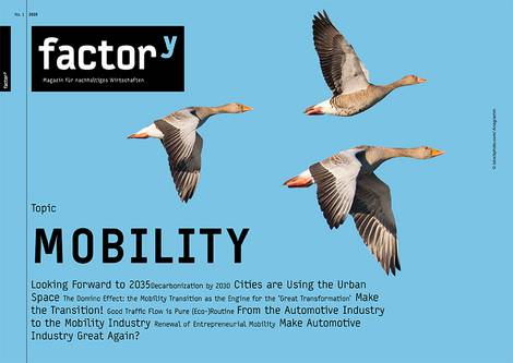Title of the magazine Mobility