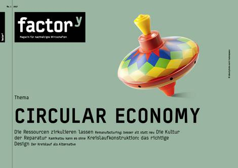 Titel des Magazins Circular Economy
