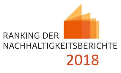 Logo Ranking der Nachhaltigkeitsberichte 2018