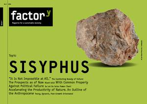 title of the magazine sisyphus about failure and frustration
