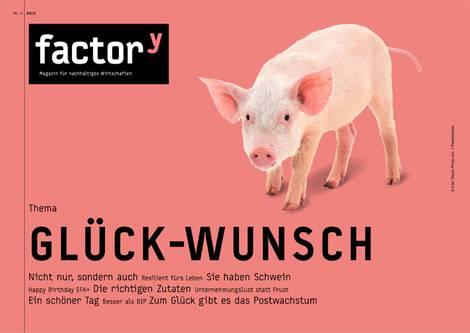 Titel des Magazins Glück-Wunsch