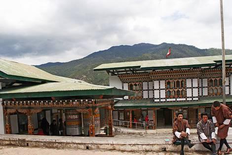Dorfleben in Bhutan