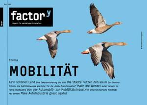 """Titelbild des Magazins """"Mobilität"""", Download bei Klick"""