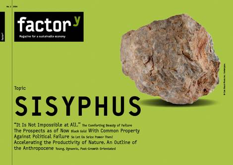 title of the magazine sisyphus