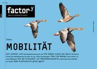 """Titel des factory-Magazins """"Mobilität"""""""