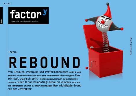 Titelbild des factory-Magazins Rebound