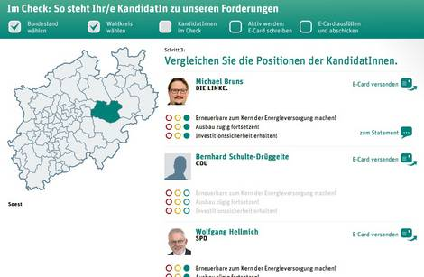 Energiewende-Online-Check