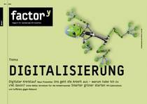 """Titelbild des Themenhefts """"Digitalisierung"""""""