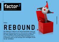Titel des factory-Magazins Rebound