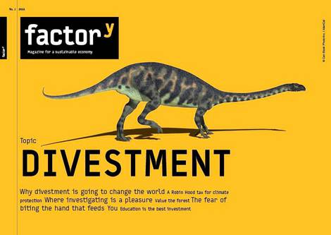 Title of the factory magazine Divestment