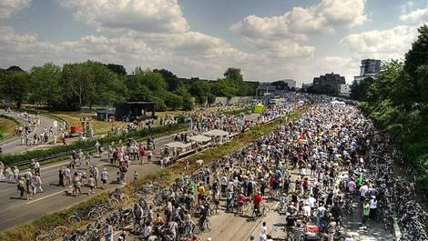 Blick auf das Still-Leben der Kulturhauptstadt Ruhr 2010