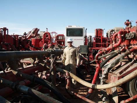 Frackingwasservorbereitung