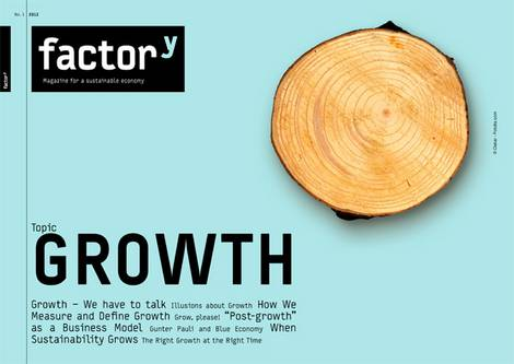 title of the factory-magazine Growth