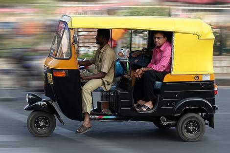 Motorroller-Rikscha