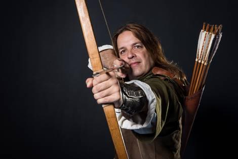 Tim Pollard als Robin Hood