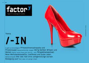 "Titelbild des Magazins ""Gender"", Download bei Klick"