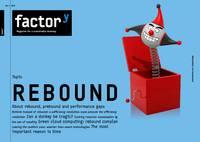 factory magazine title Rebound