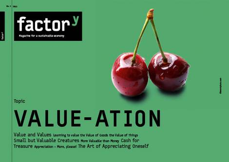 Title of the factory-magazine Value-ation