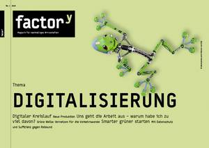 """Titelbild des Magazins """"Digitalisierung"""", Download bei Klick"""